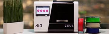 AIO Robotics PR1001 ZEUS All-In-One 3D Drucker und Scanner, Plastik, Desktop, geschlossen, PLA 1,75 mm - 2