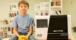AIO Robotics PR1001 ZEUS All-In-One 3D Drucker und Scanner, Plastik, Desktop, geschlossen, PLA 1,75 mm - 3