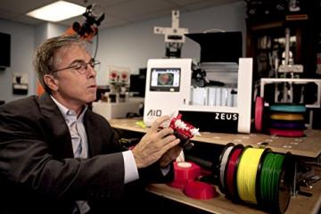 AIO Robotics PR1001 ZEUS All-In-One 3D Drucker und Scanner, Plastik, Desktop, geschlossen, PLA 1,75 mm - 5