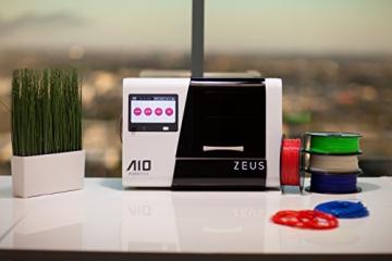 AIO Robotics PR1001 ZEUS All-In-One 3D Drucker und Scanner, Plastik, Desktop, geschlossen, PLA 1,75 mm - 7