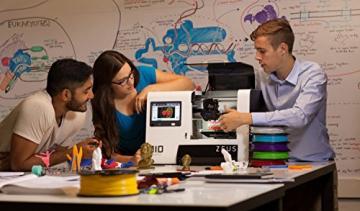 AIO Robotics PR1001 ZEUS All-In-One 3D Drucker und Scanner, Plastik, Desktop, geschlossen, PLA 1,75 mm - 8