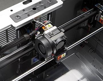 Dremel 3D-Drucker Idea Builder, Filamentspule weiß, Stromkabel, USB-Kabel, SD-Karte, Spulenarretierung, Druckmatte, Nivellierblatt, Reinigungsdorn, Karton - 5