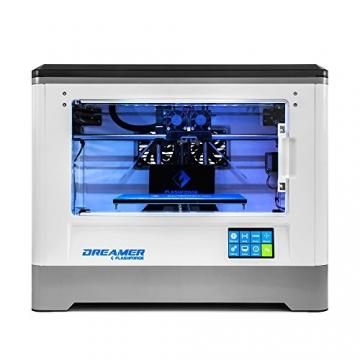 Flashforge® Dreamer 3D Drucker Doppel-Extruder Drucker mit Clear TÃ1/4r und RÃ1/4ck Fans - 2