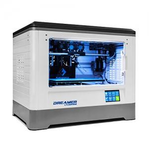 Flashforge® Dreamer 3D Drucker Doppel-Extruder Drucker mit Clear TÃ1/4r und RÃ1/4ck Fans - 3