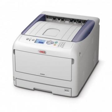 Drucker Testseite des OKI C822n Laserdrucker - Testbericht