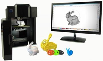PP3DP UP! Mini - 3D Drucker / Printer mit Starterset, Software, geschlossenem Druckschrank und beheizter Druckplatte - 3