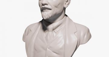 Büste aus dem 3D drucker